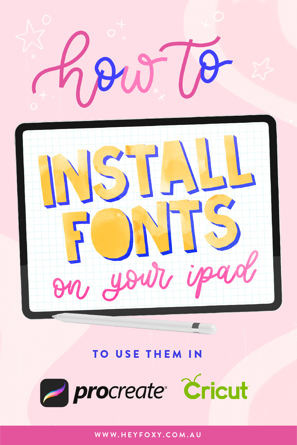 How to Install Fonts on your iPad